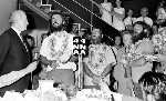 Civic reception for the crew of the La Balsa raft, Maroochy Shire Council Chambers, Nambour, 6 November 1970