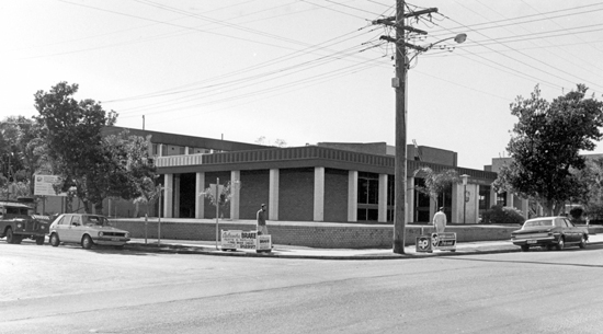 Landsborough Shire Council Chambers, Bulcock Street, Caloundra, 1982 [picture]
